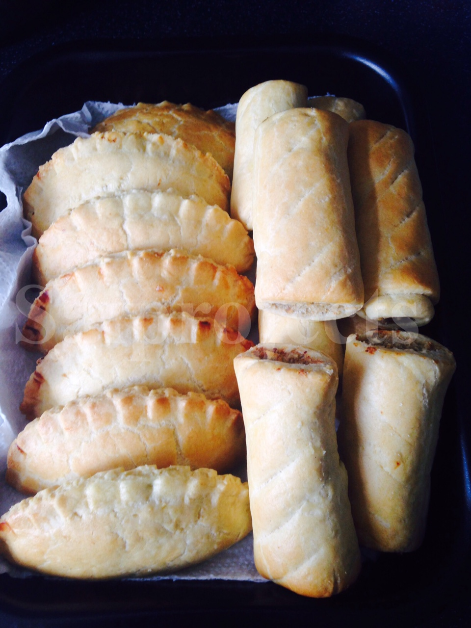 Saiprojects: Home-made Nigerian Meatpie