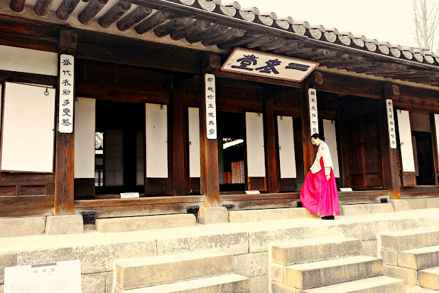 Unhyeongung Dangui (당의) Royal Court Hanbok Dress | meheartseoul.blogspot.com