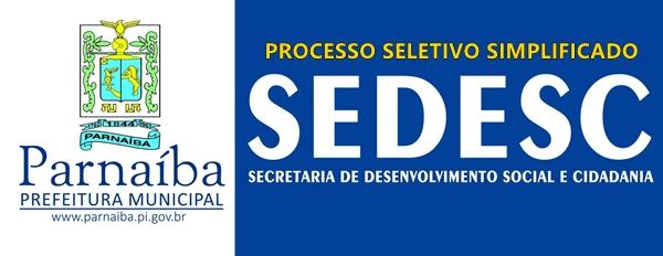 Prefeitura de Parnaíba - PI abre inscrições para processos seletivos