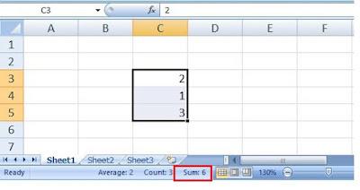 MS Excel में जोड़ना, घटाना, गुणा, भाग, औसत