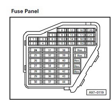 2000 audi a6 fuse box schematic