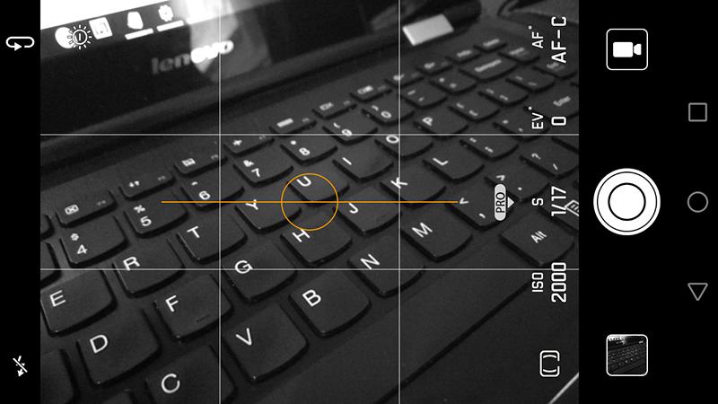 Monochrome mode