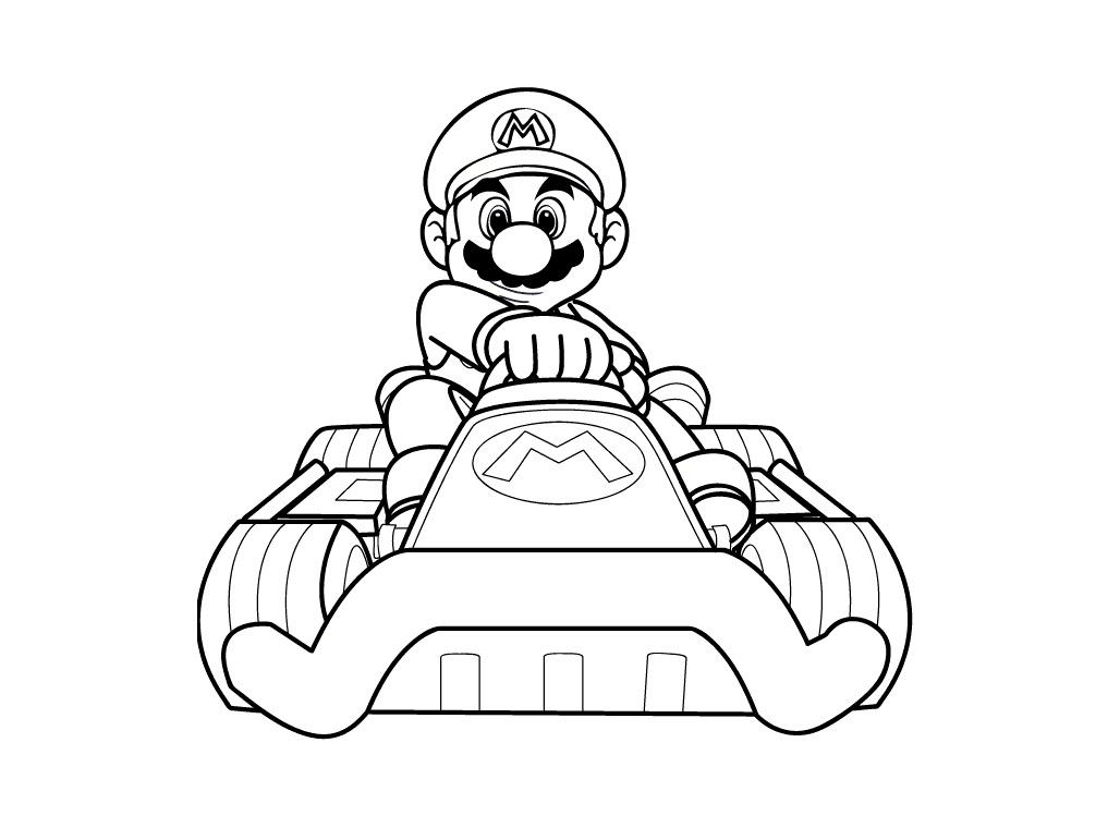 Desenhos Para Colorir E Imprimir: Desenhos Do Super Mario