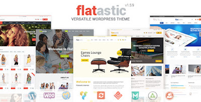 Flatastic v1.5.8 – Versatile WordPress Theme