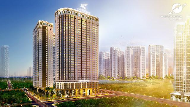Phối cảnh dự án Sunshine Garden, Vĩnh Tuy, Hoàng Mai