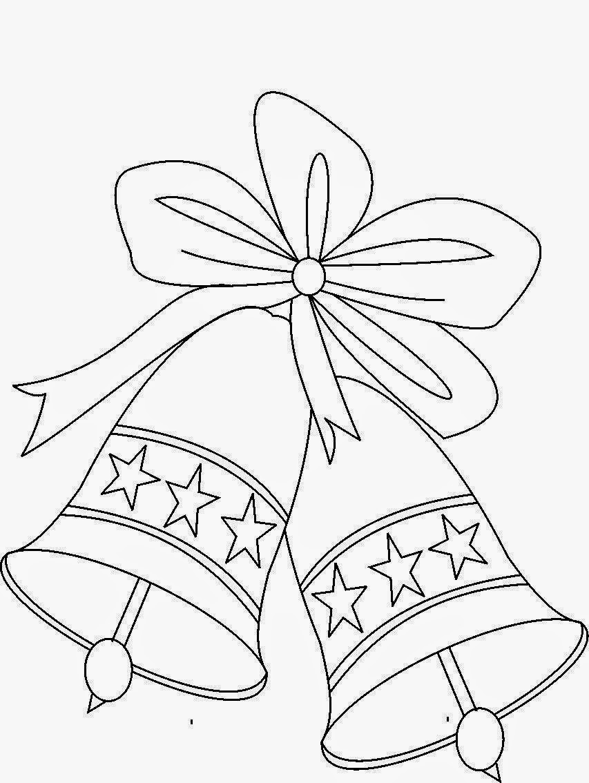 Bells Drawing : bells, drawing, Christmas, Images, Howto, Techno