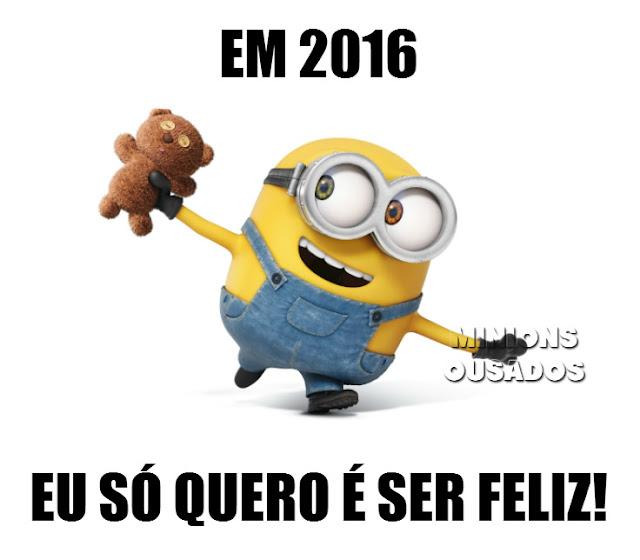 frase para facebook, Frase de Ano novo, frase minions, frase de felicidade