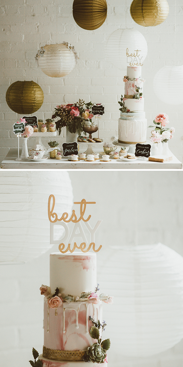 Boho Wedding - sweet table inspiration | Creative Bag