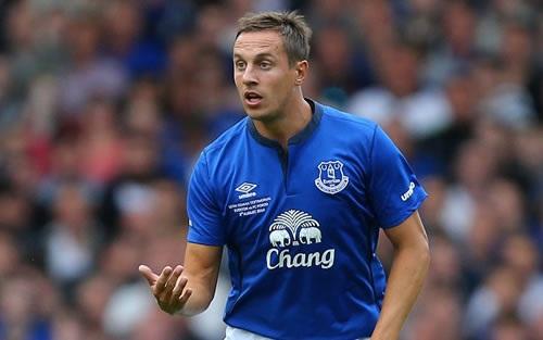 Phil Jagielka - cầu thủ tầm trung chơi cho Everton.