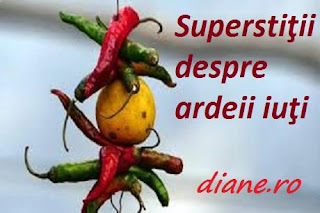 Superstiţii ardeii iuţi