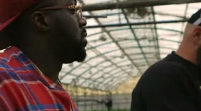 "Smoke Dza x Green R Fieldz ""Smoke Too Much"" starring Fatboy SSE"