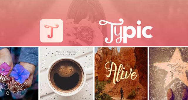 تطبيق التعديل والكتابة علي الصور typic-text-on-photos