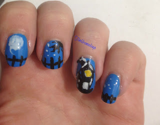 halloween_haunted_house_nail_art