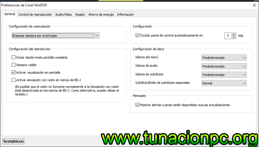 Descargar Corel WinDVD Pro Full Español