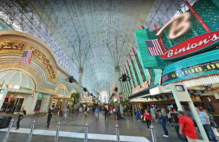 Fremont Street Experience is a pedestrian, mall and attraction in Las Vegas USA