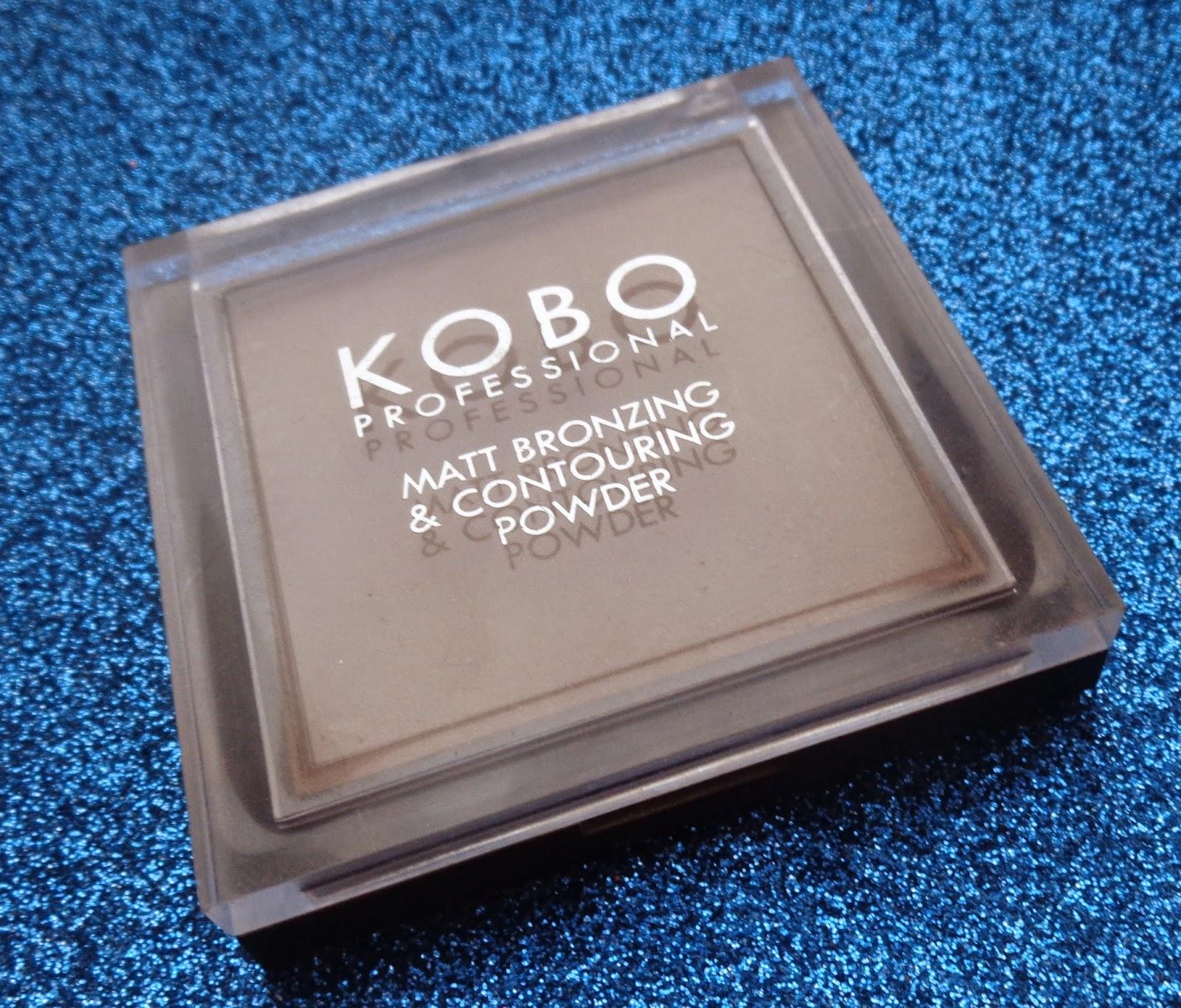 KOBO puder brązujący matt bronzing & contouring powder - recenzja