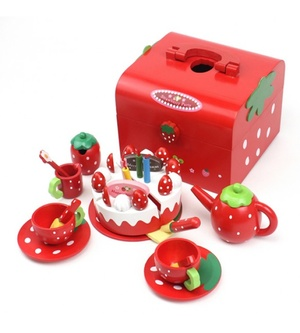 Mother Garden Strawberry Party Tea Set