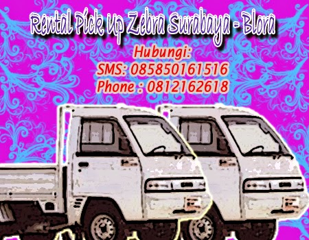 Rental Pick Up Zebra Surabaya-Blora