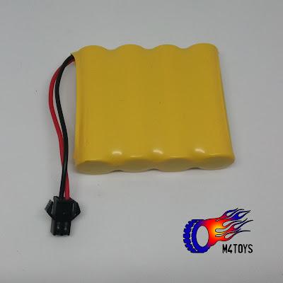 Battery Baterai Mobil Mainan Remote Control mAh 4.8 V - Kuning