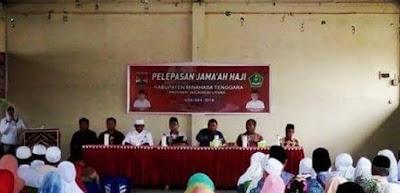 Pelepasan Jamaah Haji Mitra