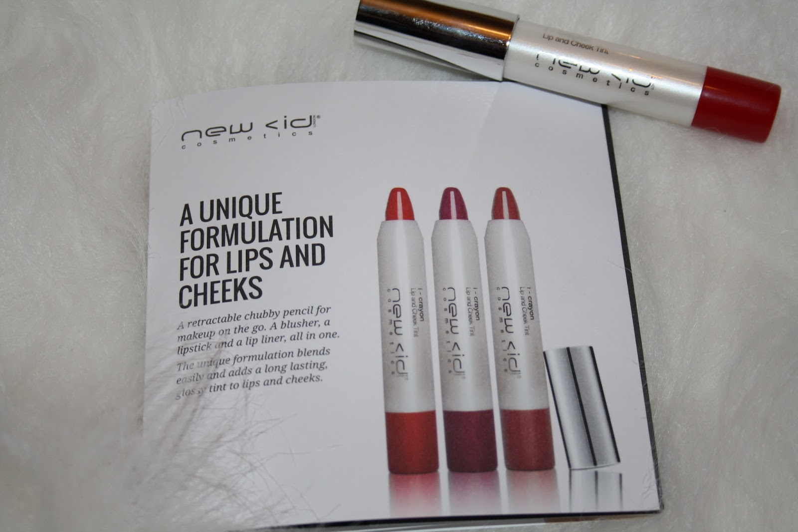 Look Fantastic November Beauty Box - New CID Cheek Lip Stain