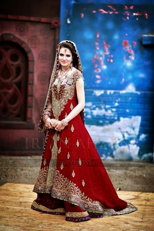 She247 Latest Trend Of Pakistani Bridal Dresses For Barat