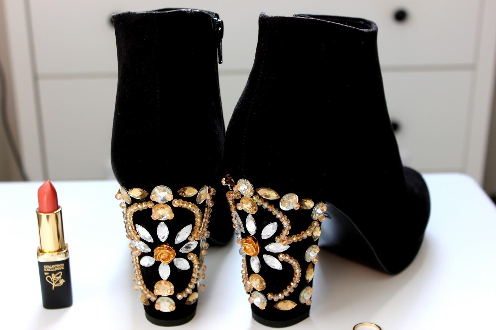 embellished boots