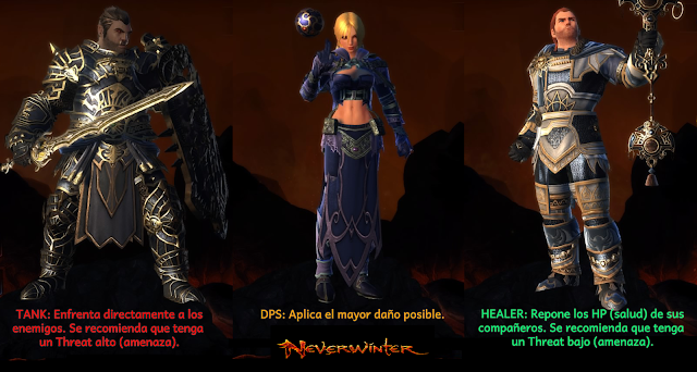 Neverwinter - Tank, Healer, DPS - Charkleons.com