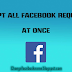 How To Automatically Accept All Facebook Friend Requests Using Javascript