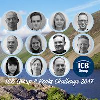 ICB Group 8 Peaks Challenge – 2nd September 2017