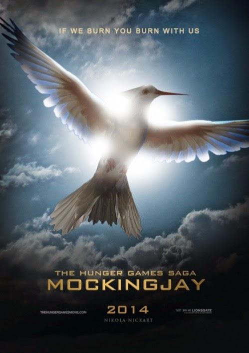 飢餓遊戲3自由幻夢The Hunger Games Mockingjay: 飢餓遊戲3自由幻夢part2 海報欣賞 非官方