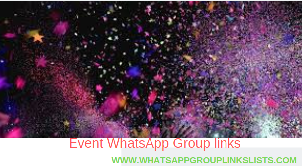 Join Event WhatsApp Group Links List