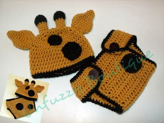 giraffe crochet hat and diaper set pattern free, free crochet pattern giraffe hat and diaper set