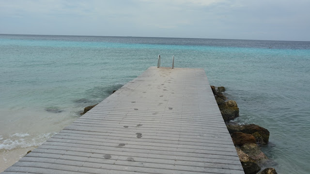 Playa Portomari Curacao boardwalk