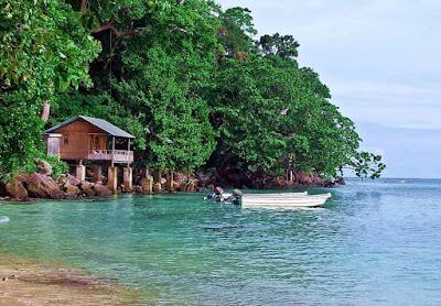 Objek wisata pulau rubiah kabupaten aceh besar