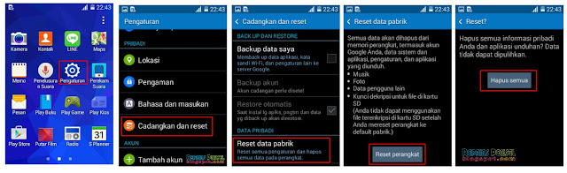 Factory Reset Samsung Galaxy young 2 Duos G130H