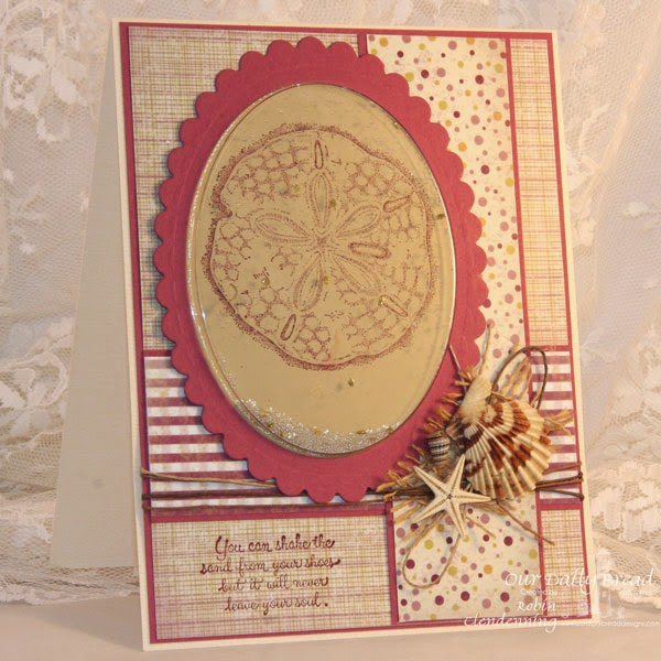 Our Daily Bread Design, Ocean Treasures, Rustic Beauty Collection, designed by Robin Clendenning