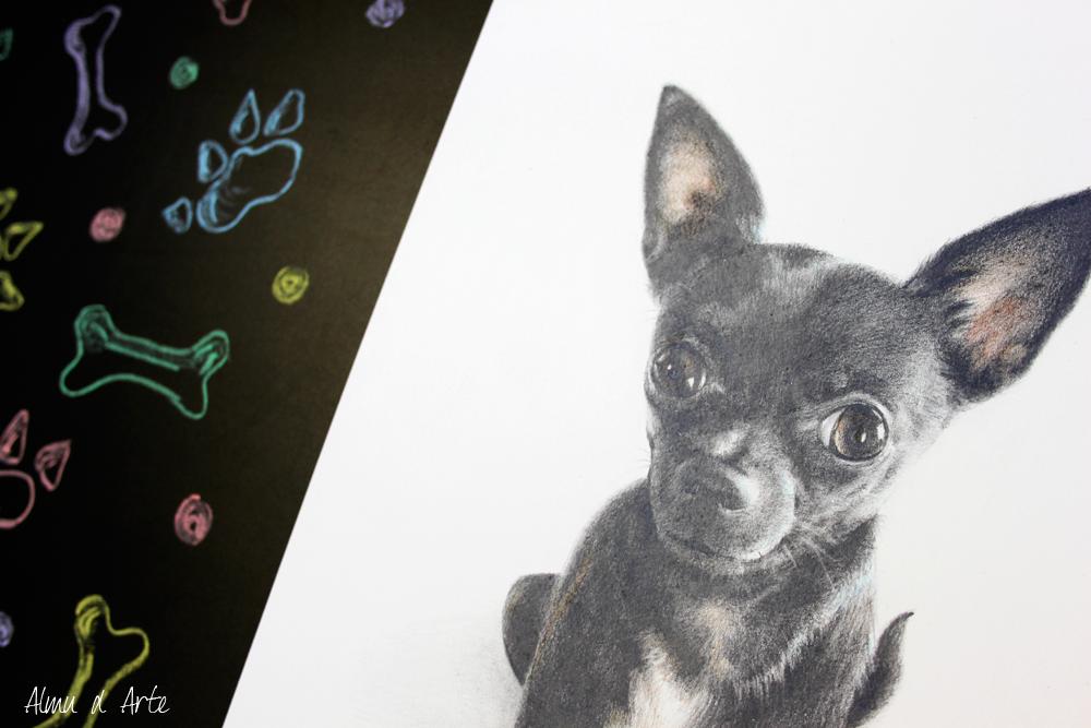 Retrato hiperrealista de tu mascota