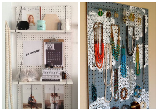 PEGBOARDS IDEAS