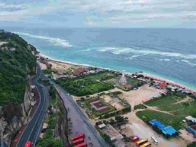 View Cantik Pantai Pandawa Bali