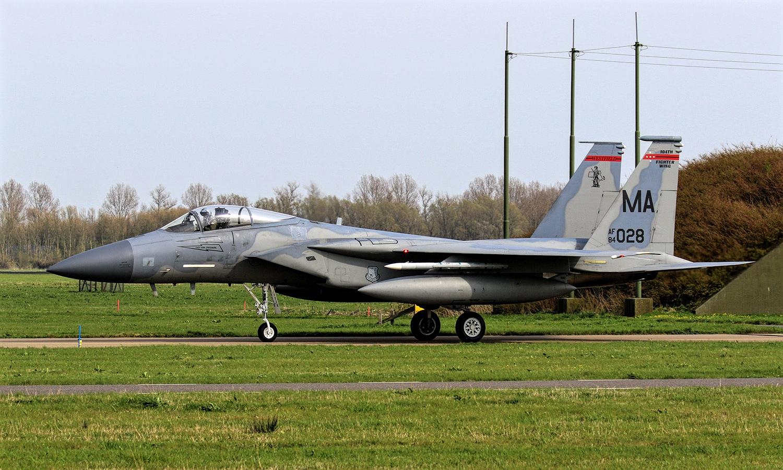 F-15C Eagle McDonnell-Douglas of US Air Force
