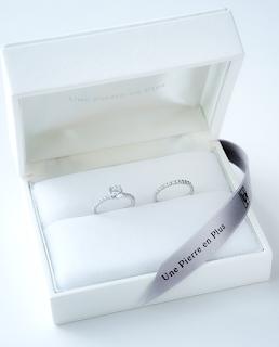 祖母から受け継いだダイヤモンドを銀座ジュエリーサロンでエンゲージリング(婚約指輪)を作りました。
