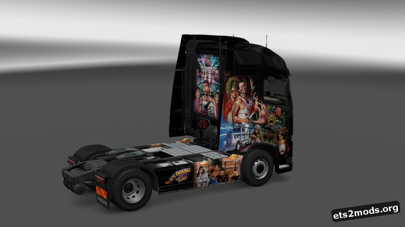 Big Trouble in Little China Skin for Volvo 2012