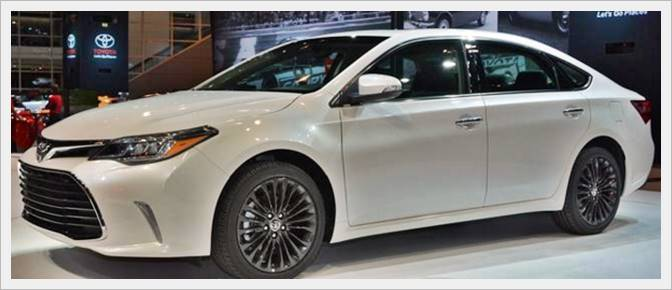 2016 Toyota Avalon Specs Performance