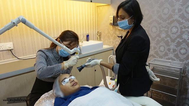 rawatan laser untuk kulit berparut di premier clinic bangsar