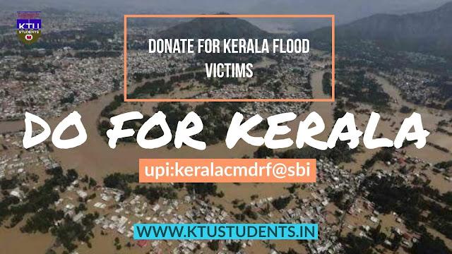 kerala flood donations news