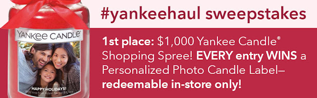 Yankee Candle Haul Sweepstakes