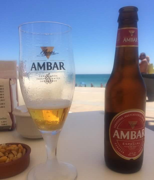 cerveza Ámbar Zaragoza