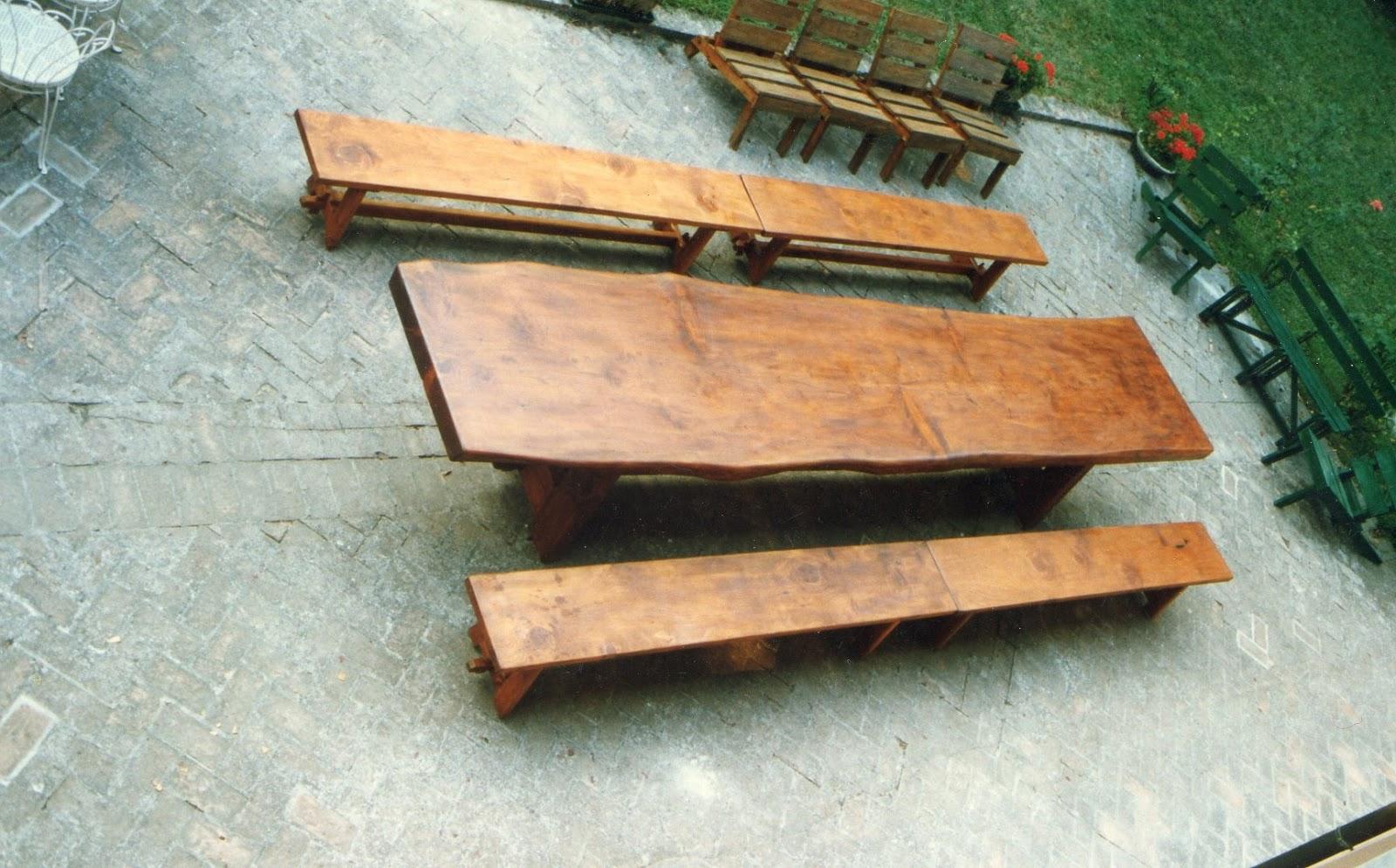 Gianfranco barili restauro e falegnameria tavolo da for Tavolo legno esterno