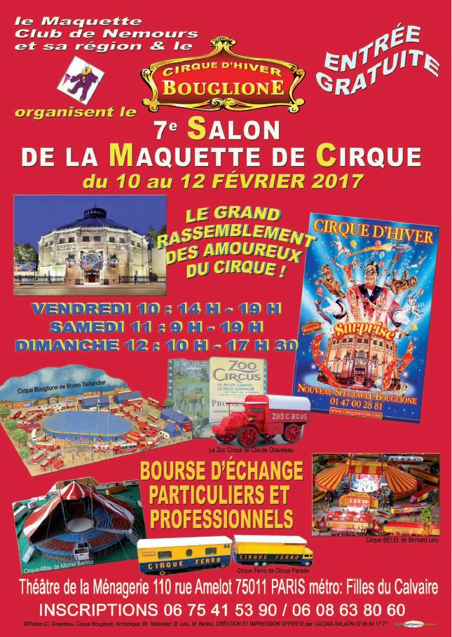 Burguscircus j 2 jours 1 2 avant l ouverture du 7 me for Salon de la maquette paris 2017